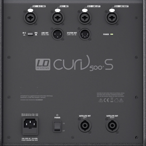 LD Systems CURV 500 Power Set