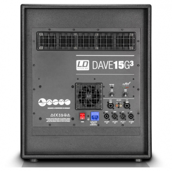 Sitem PA mobil  2.1 LD Systems Dave 15 G3