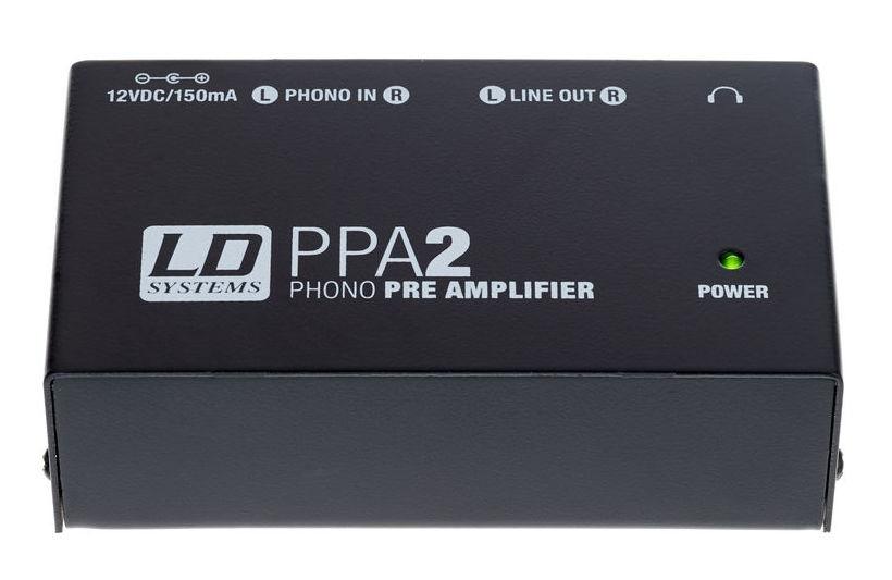 Preamplificator pentru pickup LD Systems PPA-2