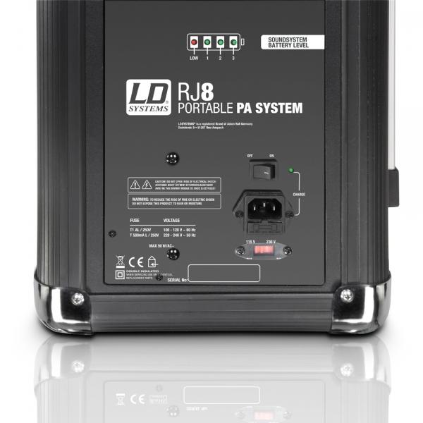 LD Systems Roadjack 8