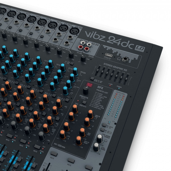 Mixer analogic cu 24 canale LD Systems VIBZ 24 DC