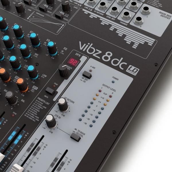 Mixer analogic LD Systems VIBZ 8 DC