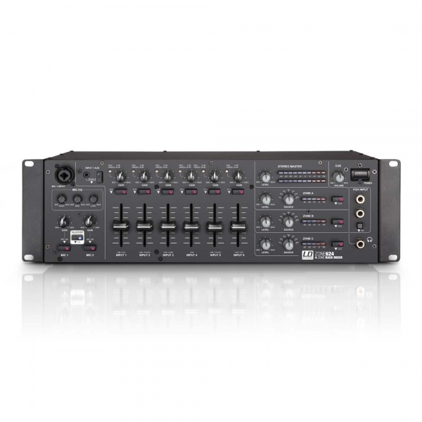 Mixer cu 2 zone LD Systems Zone 624