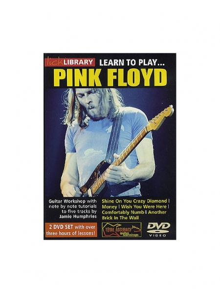 No brand Lick Library: Learn To Play Pink Floyd