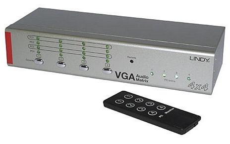 Matrice / switch VGA ?i audio Lindy VGA Audio Matrix 4x4