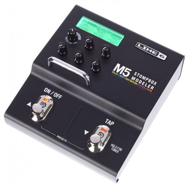 Multi-efect pentru chitara electrica Line6 M5 Stompbox