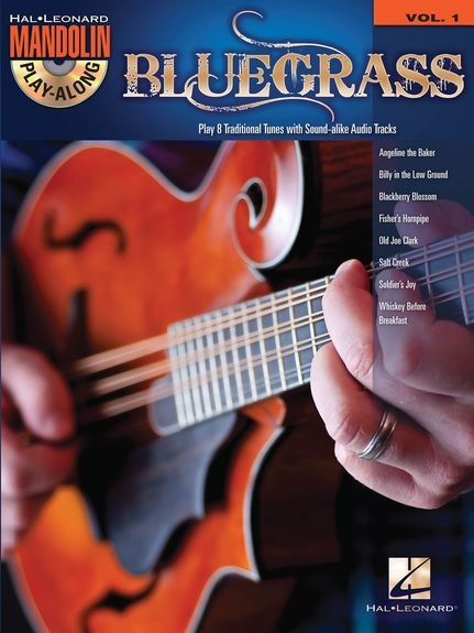No brand Mandolin Play-Along Volume 1: Bluegrass