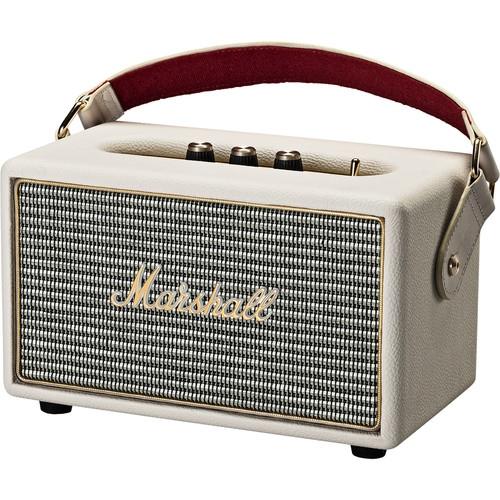 Boxa mobila stereo activa cu conexiune Bluetooth Marshall Kilburn Cream