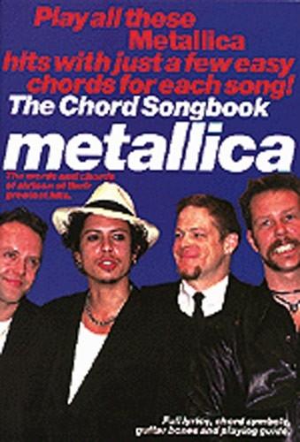 No brand Metallica Chord Songbook LC BK