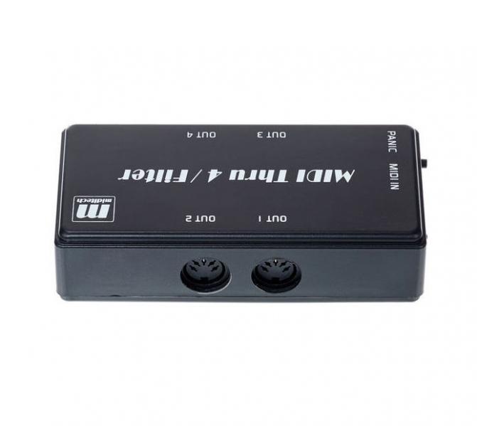 Distribuitor de semnal MIDI Miditech Midi Thru 4 / Filter