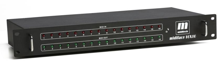 Miditech MidiFace 16x16