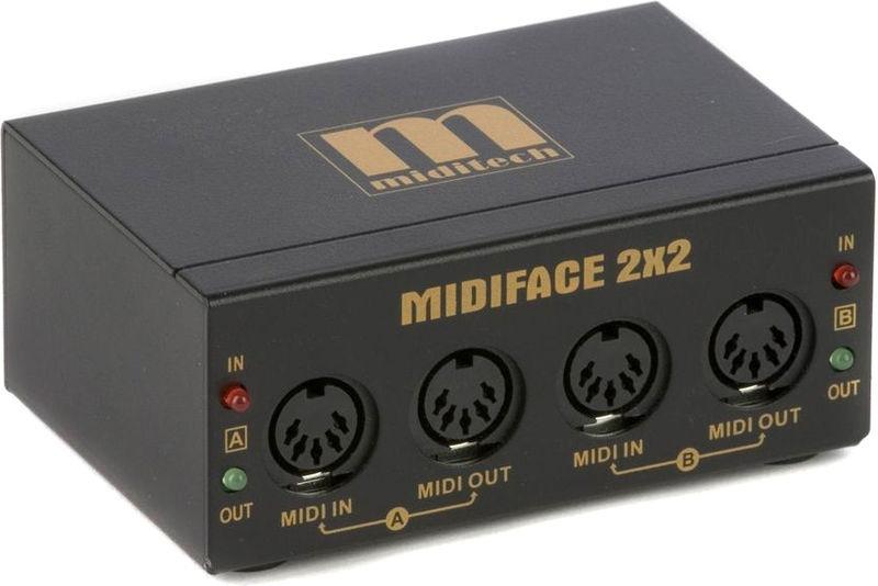 Interfata MIDI USB Miditech MidiFace 2x2