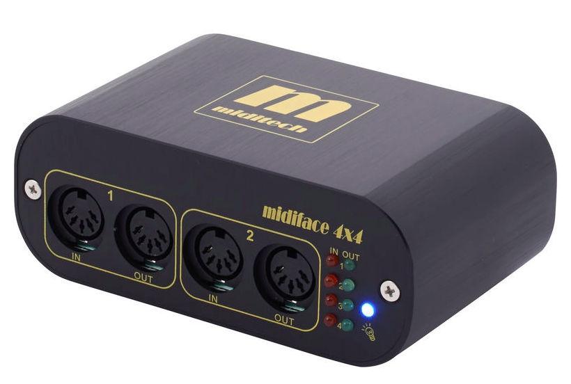 Interfata MIDI USB Miditech MidiFace 4x4