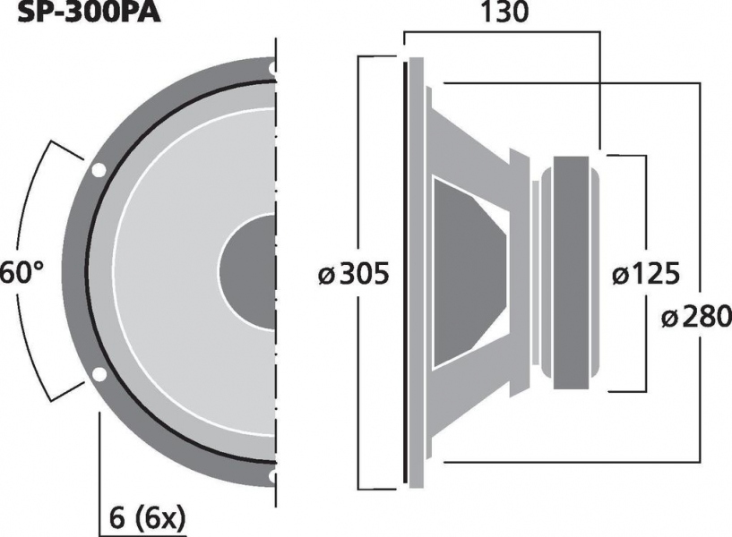 Monacor SP-300PA