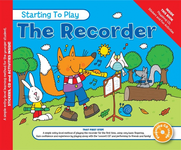 No brand Music for Kids Starting To Play The Recorder