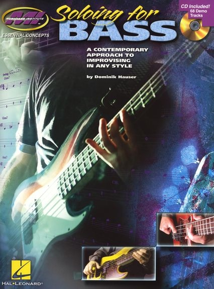 No brand MUSICIANS INSTITUTE SOLOING FOR BASS GUITAR WITH TAB BOOK/CD