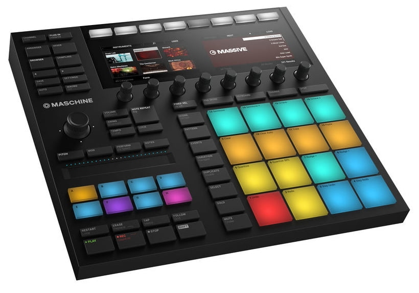 Sequencer/sampler/controler Native Instruments Maschine MK3