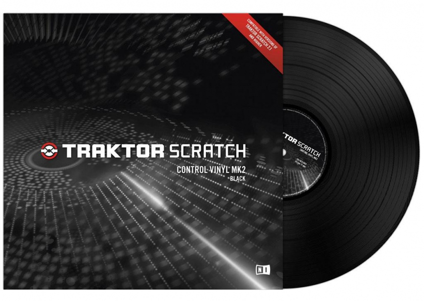 Native Instruments Traktor Scratch Vinyl MK2 Black