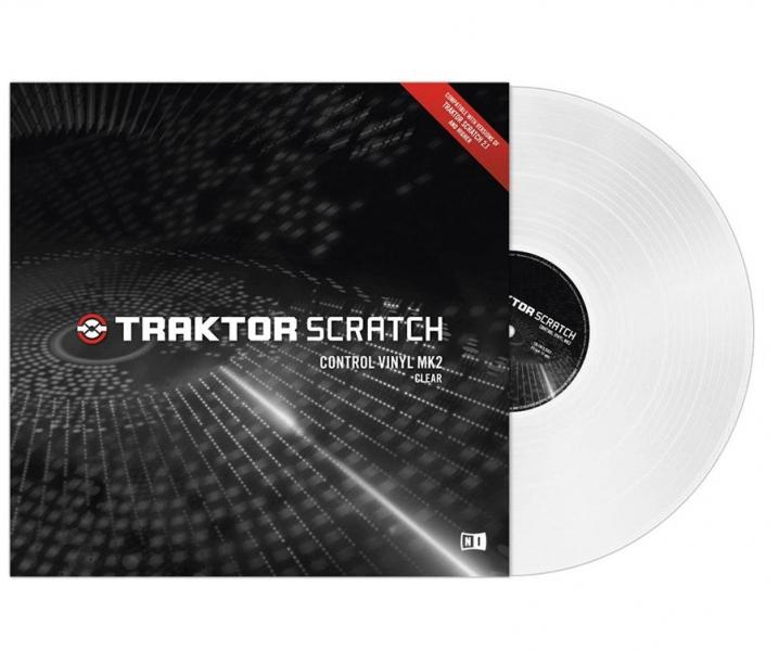 Native Instruments Traktor Scratch Vinyl MK2 Clear