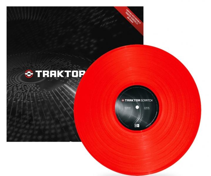 Native Instruments Traktor Scratch Vinyl MK2 Red
