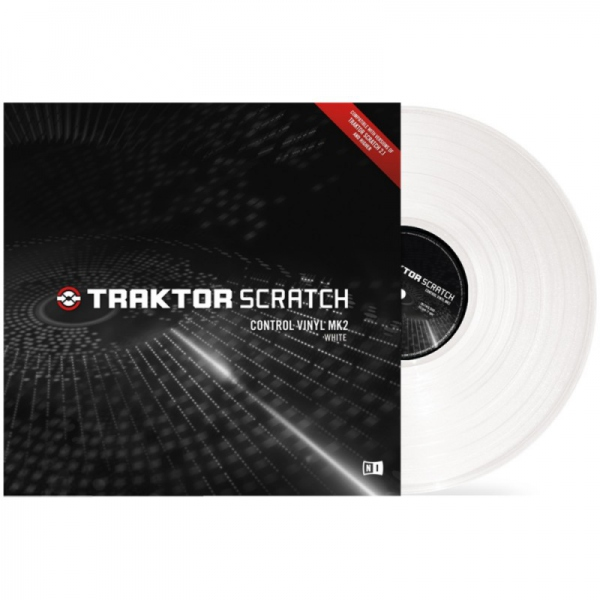 Native Instruments Traktor Scratch Vinyl MK2 White