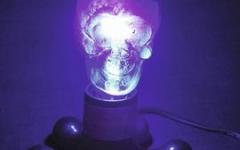 Omnilux UV Skull Lamp 230V/75W E-27 80mm