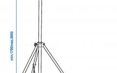 Omnitronic Overhead Mic Stand