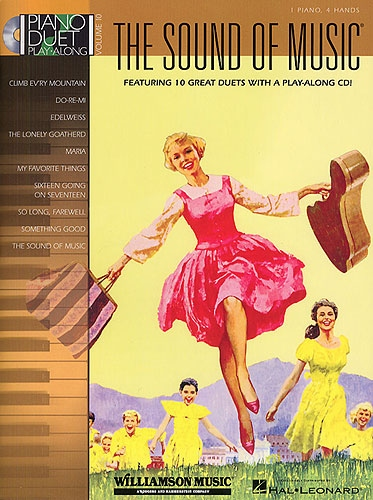 No brand PIANO DUET PLAY-ALONG VOLUME 10  THE SOUND OF MUSIC PF DUET BK/CD