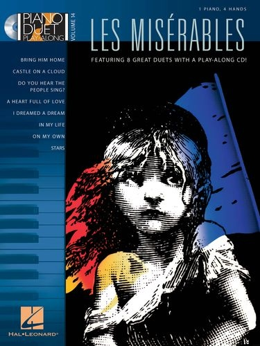 No brand PIANO DUET PLAY-ALONG VOLUME 14  LES MISERABLES PF BOOK/CD