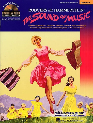 No brand PIANO PLAY-ALONG VOLUME 25  THE SOUND OF MUSIC PVG PF BOOK/CD