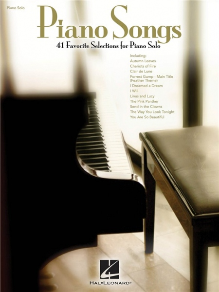 No brand Piano Song: 41 Favorite Selections For Piano Solo