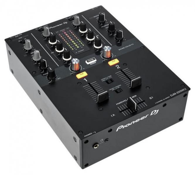 Mixer DJ cu 2 canale Pioneer DJM-250 MK2