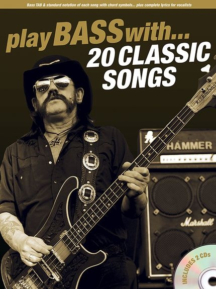 No brand PLAY BASS WITH 20 CLASSIC SONGS TAB BGTR BOOK/2CD