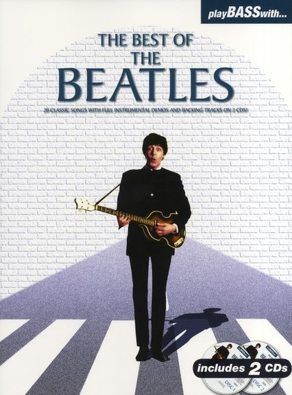 No brand PLAY BASS WITH BEST OF BEATLES BOOK/2CDS