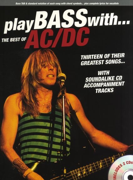 No brand PLAY BASS WITH THE BEST OF AC/DC BASS GUITAR BOOK/2CDS