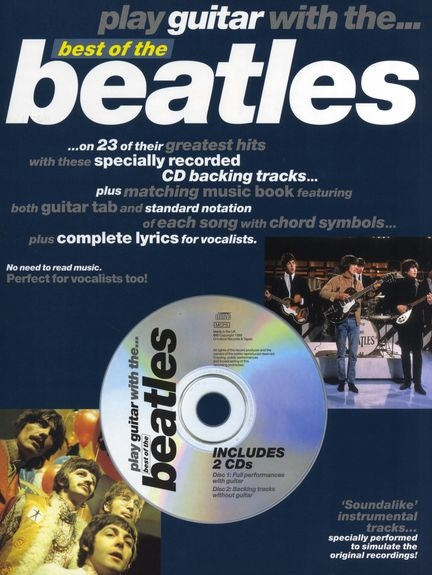 No brand PLAY GUITAR WITH... BEST OF THE BEATLES TAB BOOK/CD
