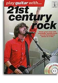 No brand PLAY GUITAR WITH 21ST CENTURY ROCK GUITAR TAB BOOK/2CDS