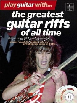 No brand PLAY GUITAR WITH THE GREATEST GUITAR RIFFS OF ALL TIME GTR TAB BK/2CDS