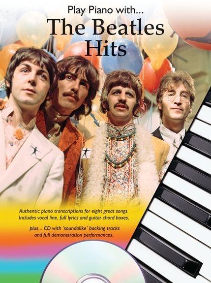 No brand PLAY PIANO WITH ... BEATLES HITS BK/CD