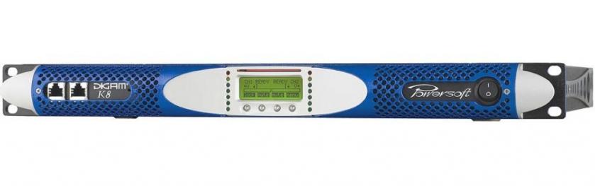 Amplificator audio de putere cu 2 canale Powersoft K8
