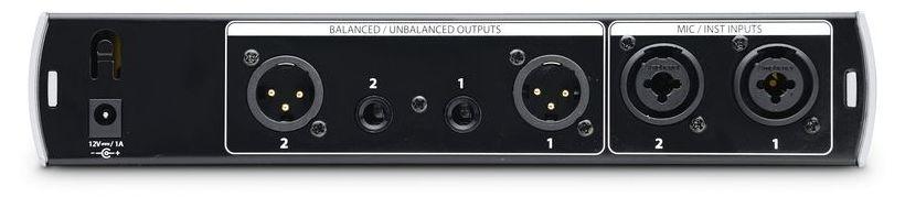 Preamplificator de microfon/instrument stereo dual Presonus Bluetube DP V2