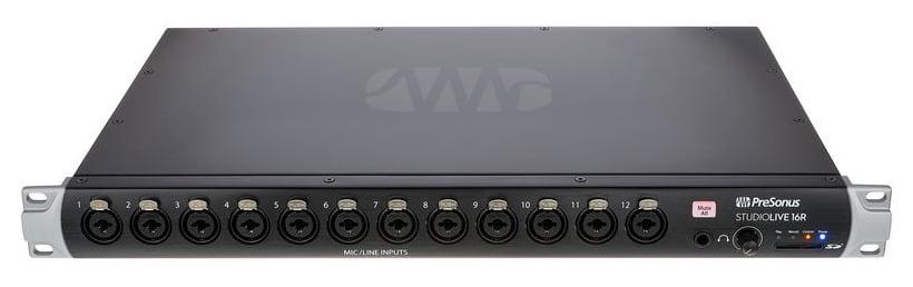 Mixer de rack/stage box cu 16 canale Presonus StudioLive 16R