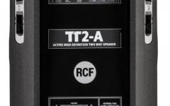 Boxa activa pe 2 cai RCF TT2-A