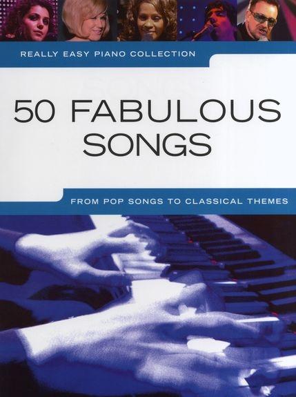 No brand REALLY EASY PIANO 50 FABULOUS SONGS PIANO BOOK