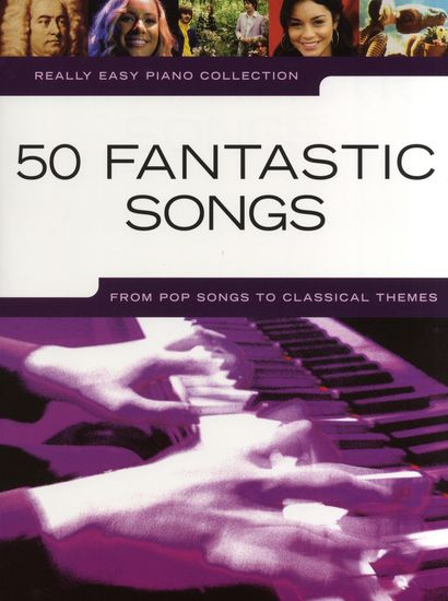 No brand REALLY EASY PIANO 50 FANTASTIC SONGS PF BOOK
