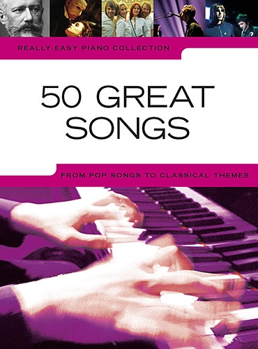 No brand REALLY EASY PIANO 50 GREAT SONGS PIANO BOOK