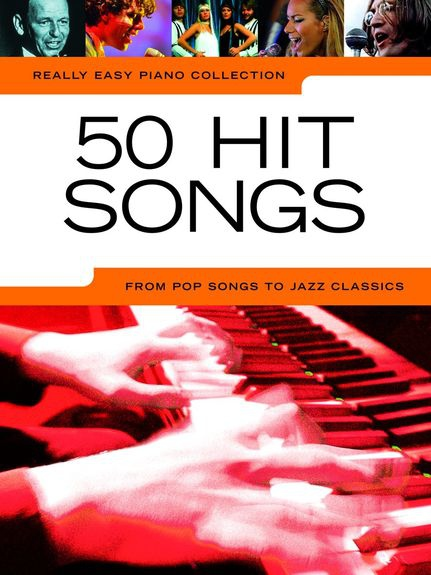 No brand REALLY EASY PIANO 50 HIT SONGS PIANO BOOK