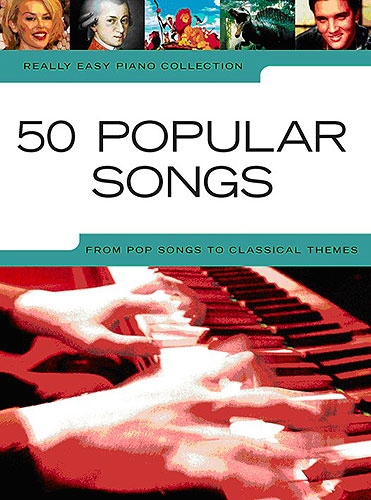 No brand REALLY EASY PIANO 50 POPULAR SONGS PIANO BOOK