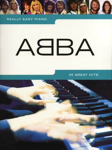 No brand REALLY EASY PIANO ABBA PIANO BOOK