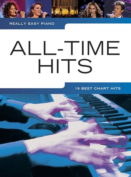 No brand REALLY EASY PIANO ALL TIME HITS PIANO BOOK